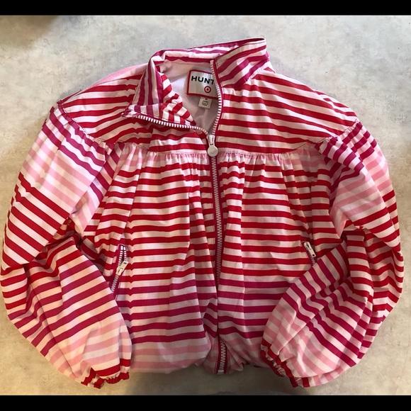 428b0970d HUNTER FOR TARGET Striped Bubble Rain Jacket